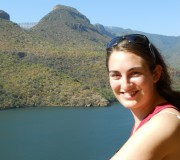 Monica - overlooking Blyde River Canyon